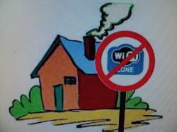 Zone sans wifi !!!!!